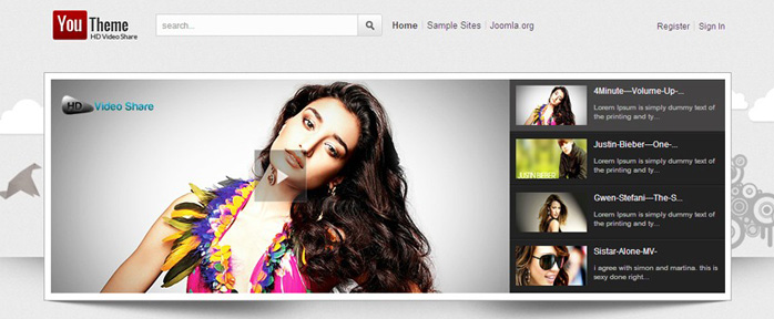 Joomla HD Video Share