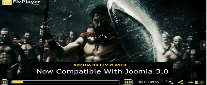 Joomla HD Flv Player