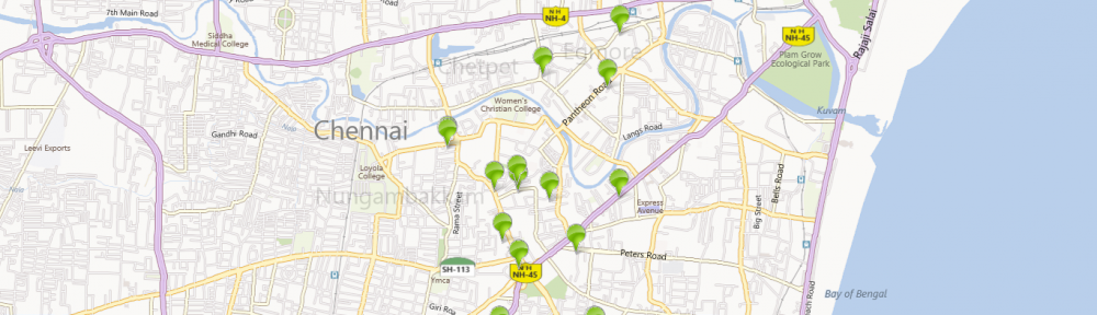 Windows 8 Map App POI