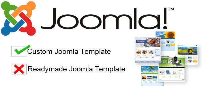 Custome Joomla Templates