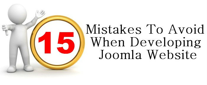 Avoid Joomla Mistakes