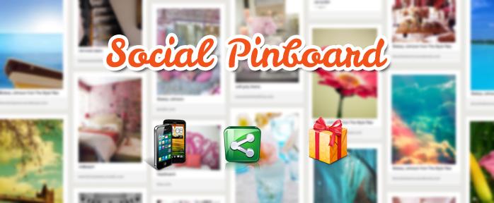 social pinboard for joomla 3.0