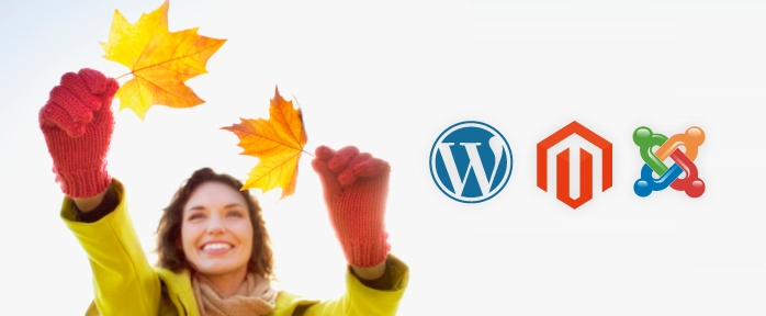 Wordpress vs. Magento vs. Joomla