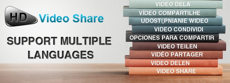 HDVideoShare - Multi Language Support
