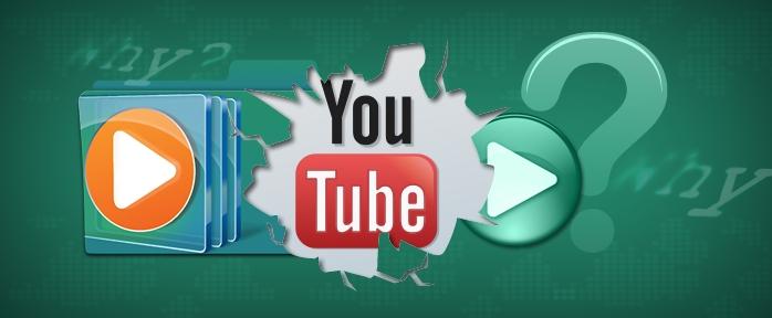 Youtube-like media player