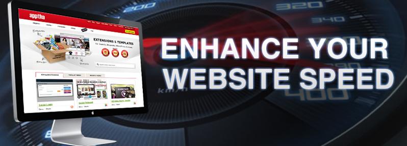 enhance website speed