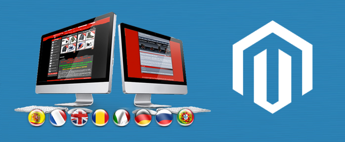 magento multilingual website