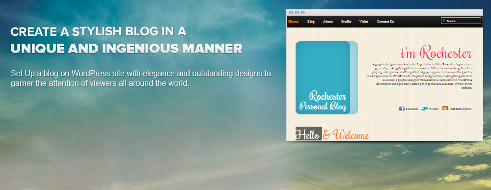 Personal Blogger Themes   Personal Blog Templates   Best Premium ...